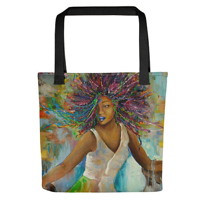 Majestic All-Over Print Tote Bag