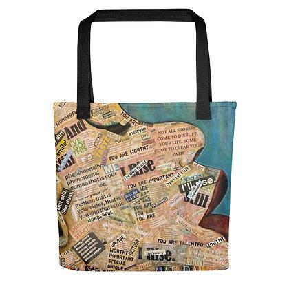 I Rise All-Over Print Tote Bag