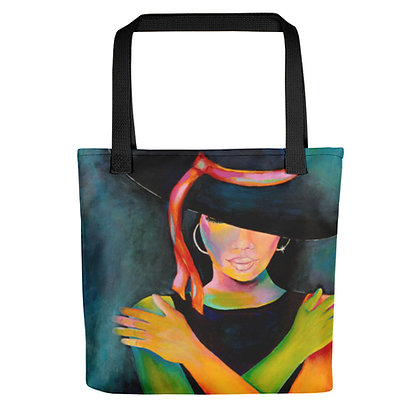 Love My Hat All-Over Print Tote Bag