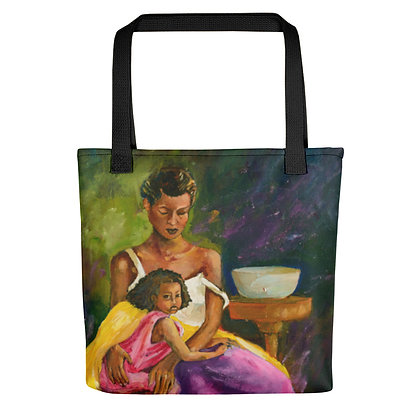 Just Us All-Over Print Tote Bag