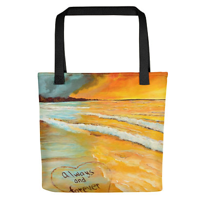 Always & Forever All-Over Print Tote Bag