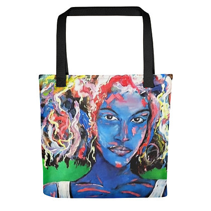 Hairy All-Over Print Tote Bag