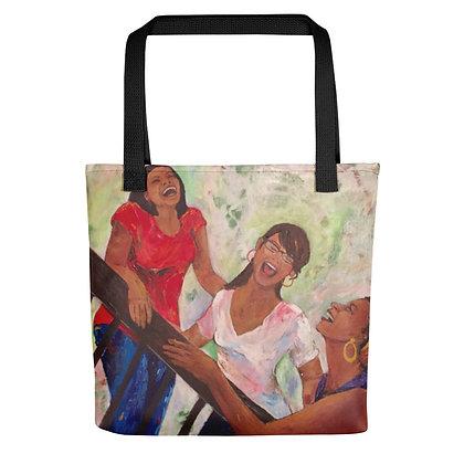 Sisterhood All-Over Print Tote Bag