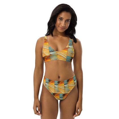 Forever & Always All-Over Print High-Waisted Bikini