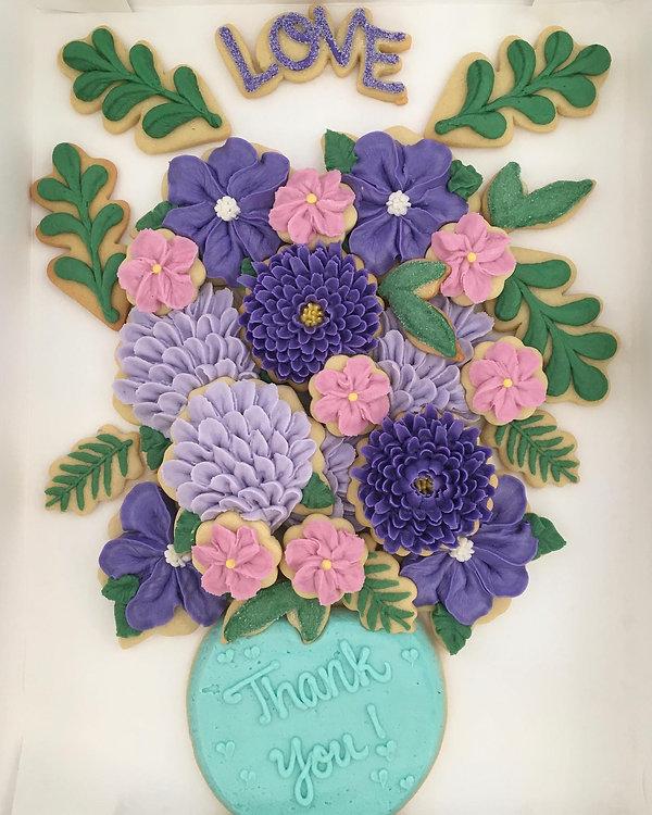Buttercream Cookie Bouquet