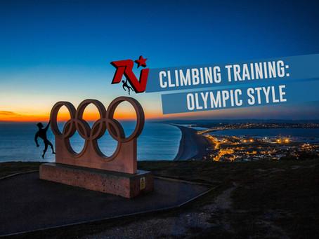 Climbing Training, Olympian Style