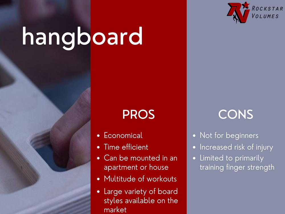hangboard pros and cons