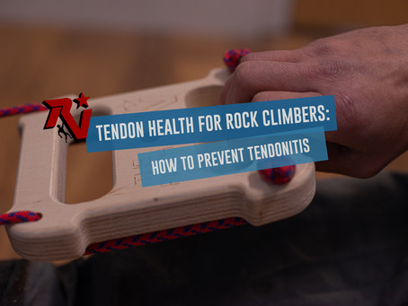 Tendon Health for Rock Climbers: How to Prevent Tendonitis