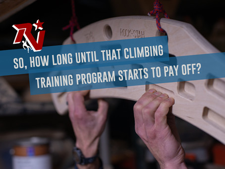 So...How Long Until That Climbing Training Program Starts to Pay Off?