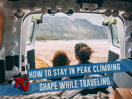 How to Stay in Peak Climbing Shape While Traveling