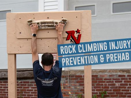 Rock Climbing Injury Prevention & Prehab