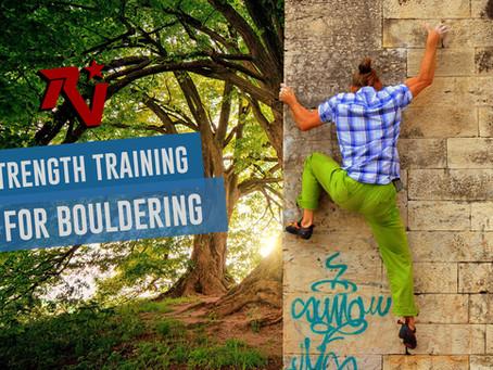 Strength Training for Bouldering
