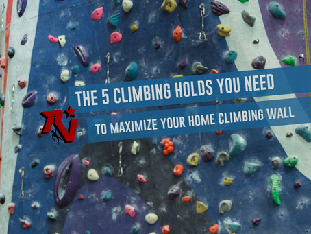 The 5 Climbing Holds You Need to Maximize Your Home Climbing Wall