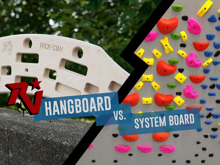 Hangboard vs. System Board: The Pros & Cons