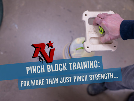 Pinch Block Training...For More Than Just Pinch Strength