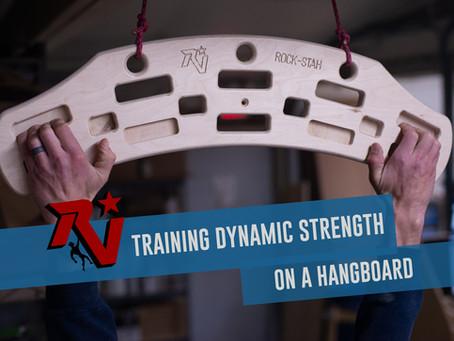 Training Dynamic Strength on a Hangboard