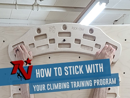 New Year, New Climbing Training Program: How to Stick with It