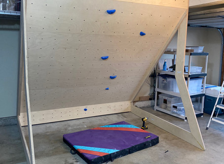 Getting the Most out of That Home Climbing Wall