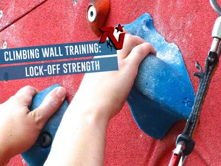 Climbing Wall Training: Lock-Off Strength