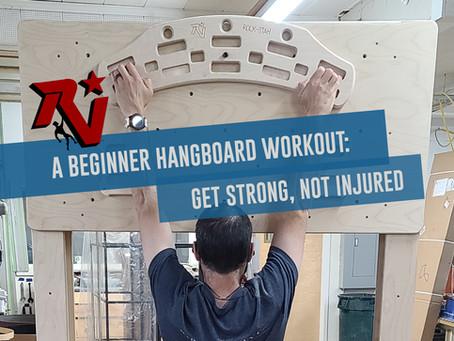 A Beginner Hangboard Workout: Get Strong, Not Injured