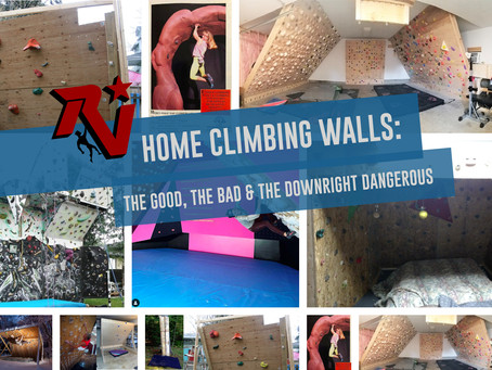 The Art of the Home Climbing Wall: The Good, the Bad, and the Downright Dangerous