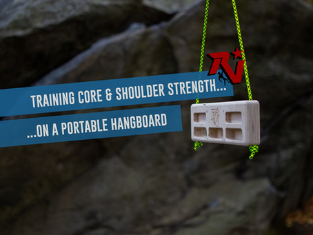 Training Core and Shoulder Strength on a Portable Hangboard