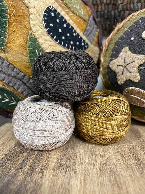 Rebekah L Smith Colors in Valdani Thread