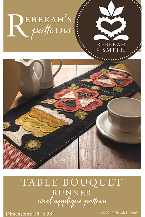 Table Bouquet Runner Kit and Pattern by RLS