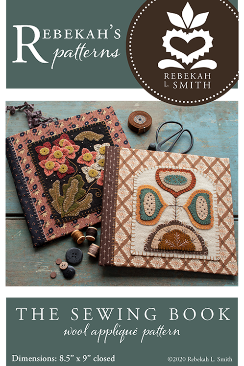 Sewing Book Pattern by Rebekah L Smith