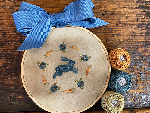 Bunny in Blue Kit by The Bonny Bee