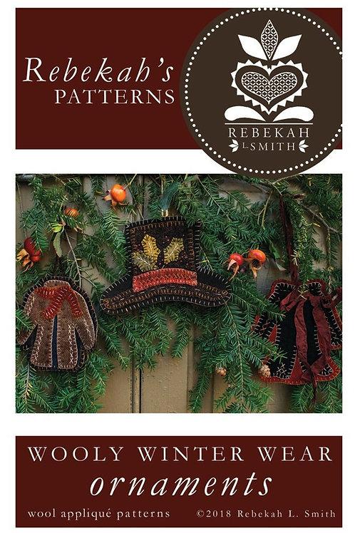 Wooly Winter Wear Ornaments Kit