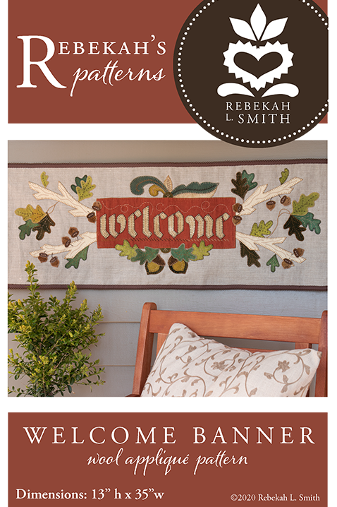 Welcome Banner Pattern by Rebekah L Smith