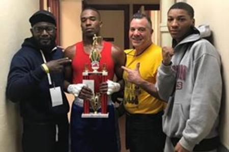 Kasim Cuffie Wins NJ Golden Gloves 2018