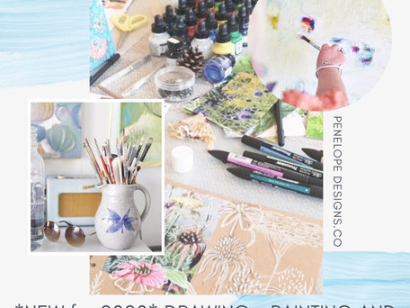 New Workshops for 2020 with Penelope Designs!