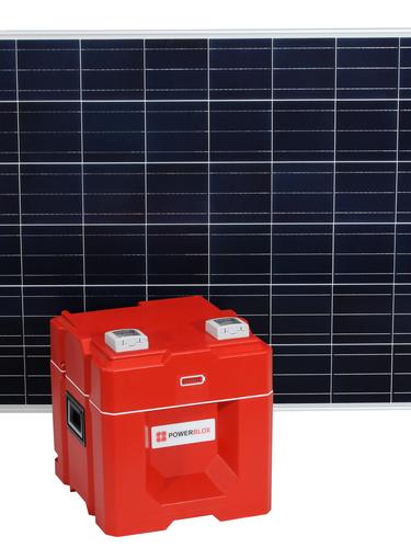 Connect a standard Solar Module (200W - 500W)