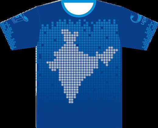 Team India Jersey 2017 - Blue Chakraa