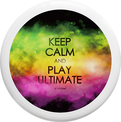 X-COM Ultimate 175g Disc Keep Calm (Full Colour)