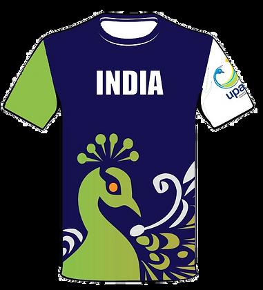 Team India Jersey 2015 - Peacock Design