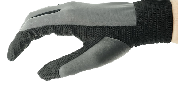 X-COM Ultimate Gloves Grey (Rubber Grip)