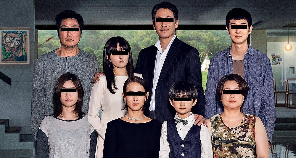 As famílias do filme Parasita