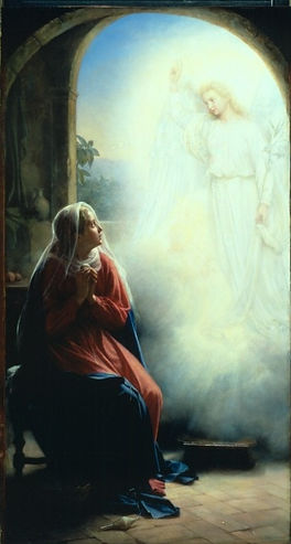 Carl Heinrich Bloch cb20  The Annunciati