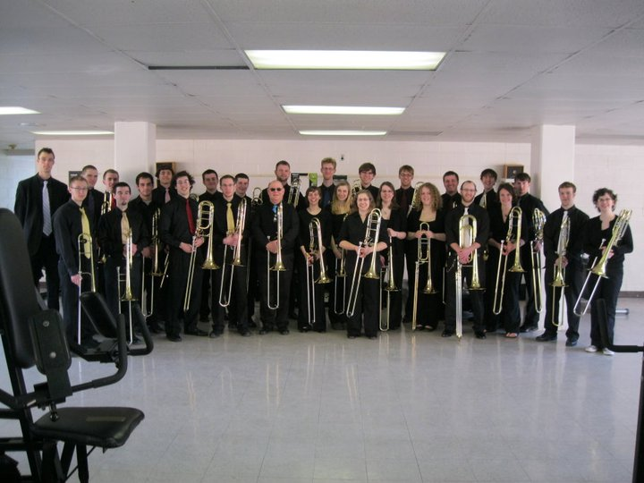 The Ithaca College Trombone Troupe