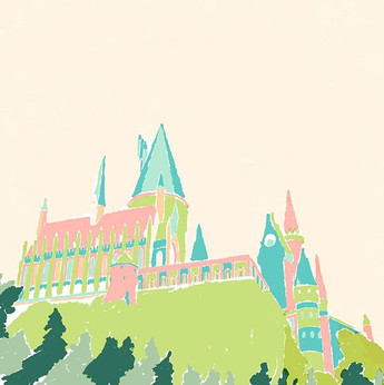 Procreate Therapy  #hogwarts #harrypotte
