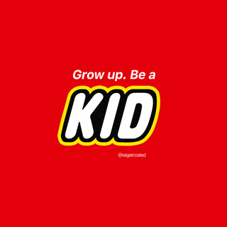 Why be a god, when you can be a kid?