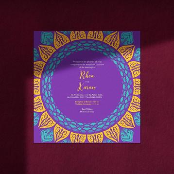 •Wedding Card Design•  #wedding #wedding