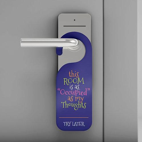 """""""Occupied"""" Door Hanger"""
