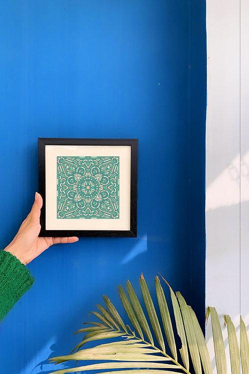 Vivid Tessellation IV