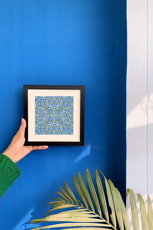 Vivid Tessellation II