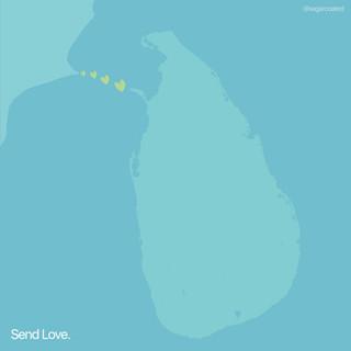 Sending love to Sri Lanka