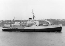 Le brise-glace C.D. Howe vers 1950